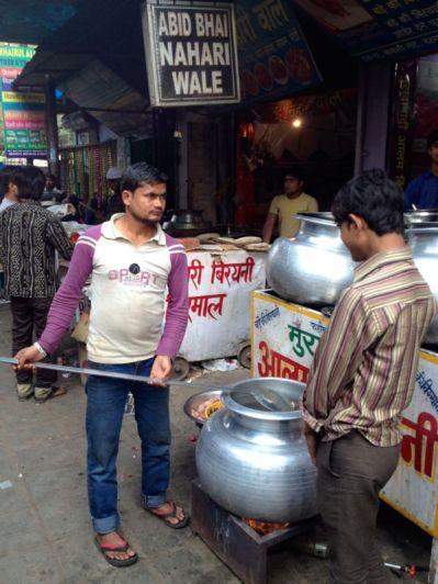 spying on the Biryani cook