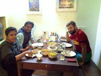 Shailesh and Jasjeet our hosts