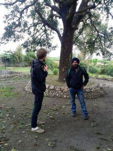 Angus and Raju