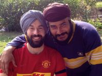 Sascha Singh and Raju Singh