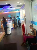 The DTAC shop - amazing service, sim card replaced in 2 minutes and then 3h on wifi