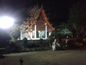 goodnight at the Wat