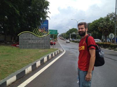 re-entering after a day in Thailand