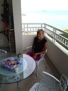 ..to enjoy on the balcony