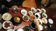 dinner with 19 sidedishes