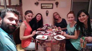 typical Ufa dinner scene :)