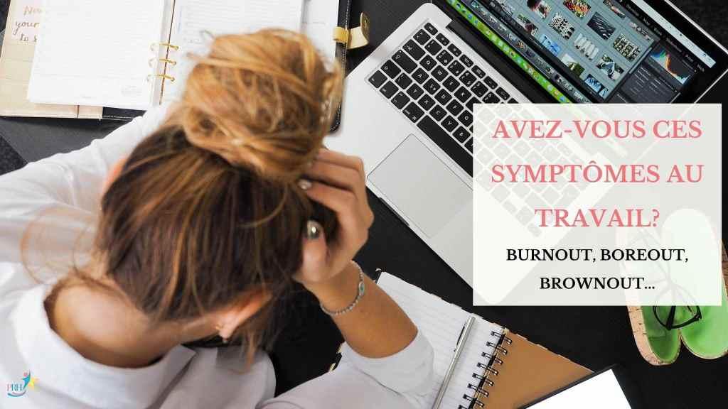 burnout, boreout, brownout