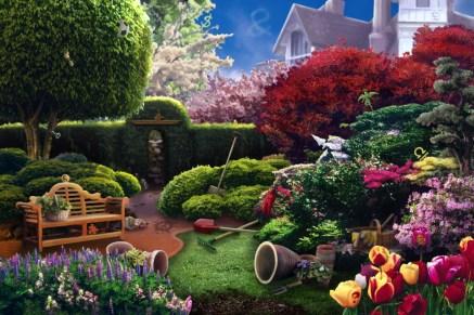 Women's Murder Club: Garden Background