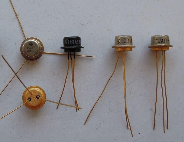 Транзисторы КТ601,603