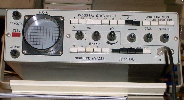 Осциллограф Н313 радиолюбителя
