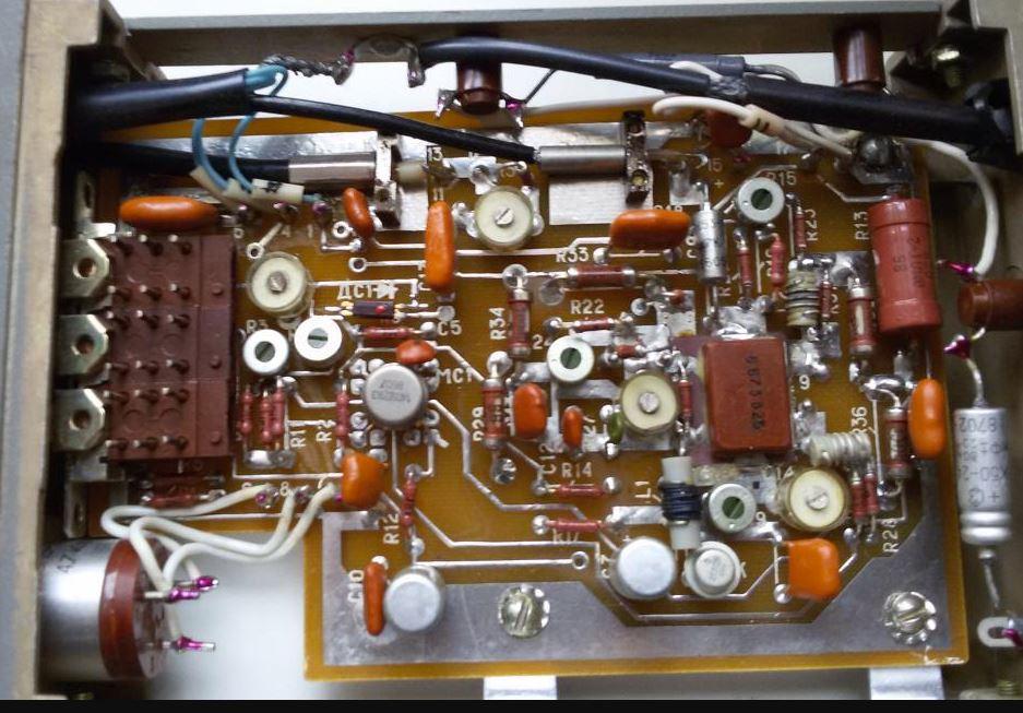 С1-108 портативный одноканальный широкополосный осциллограф