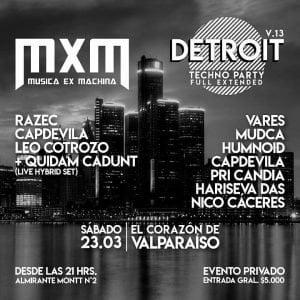 Detroit - Priscila Candia - Dj Producer - Valparaiso