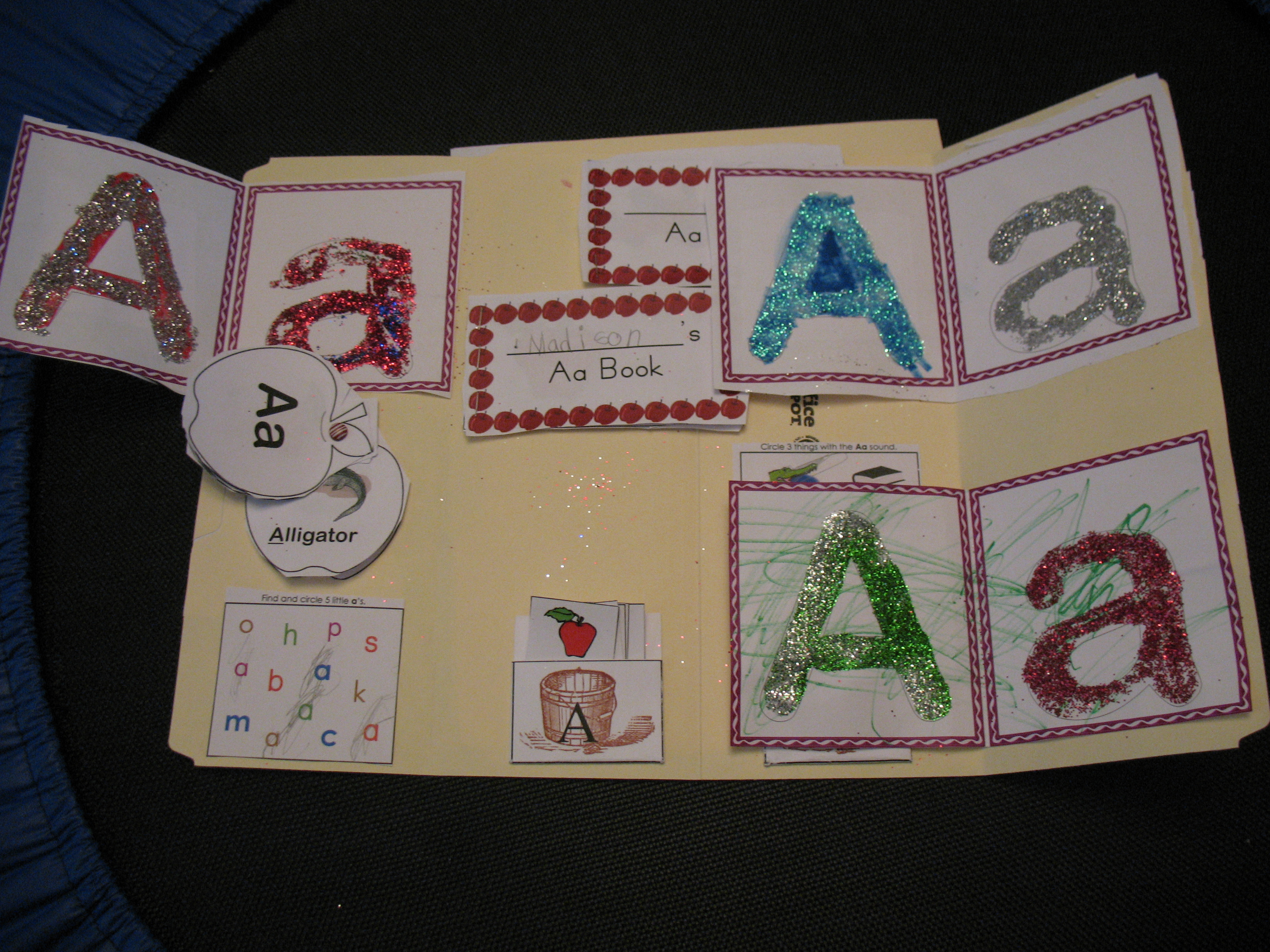 Our Letter A Lapbook
