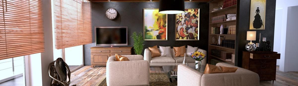 a comfortable living-room