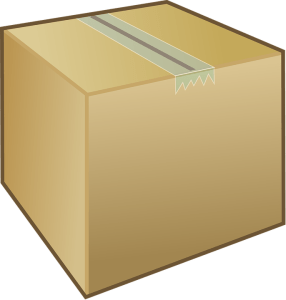 When you are making an inventory list, you should write down which packing materials you are going to use