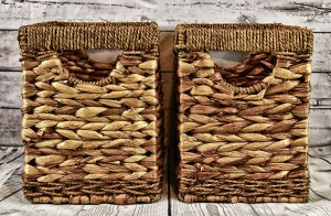 Baskets you can use when organizing your home