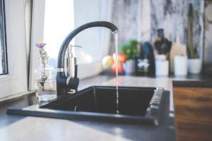 A medium-sized sink.