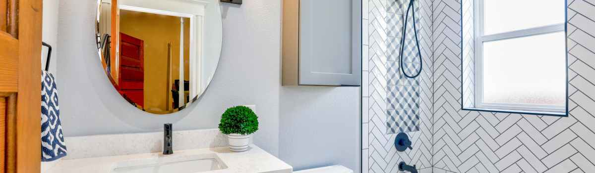 Start from your bathroom when you are trying to boost the value of your property