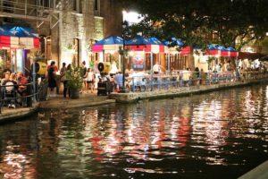 San Antonio riverwalk.