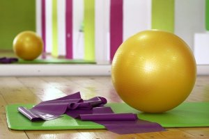 Workout Ball Pilates