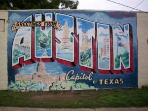 Austin Graffiti Mural Texas