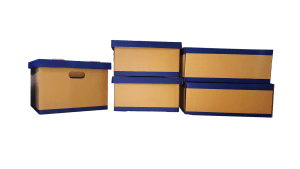 Moving boxes for your items once you find one among  modern design Seattle apartments that suits you best.