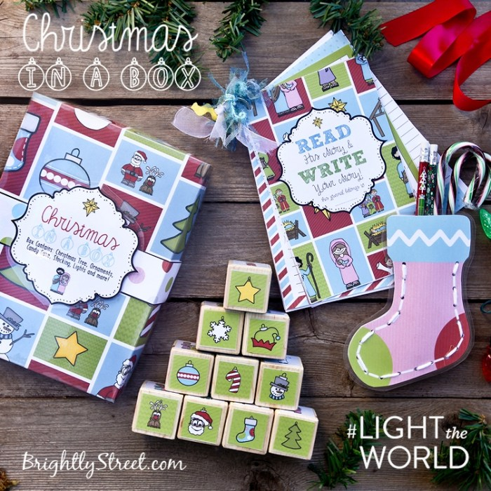 Christmas Gift Idea Christmas-in-a-Box #LighttheWorld