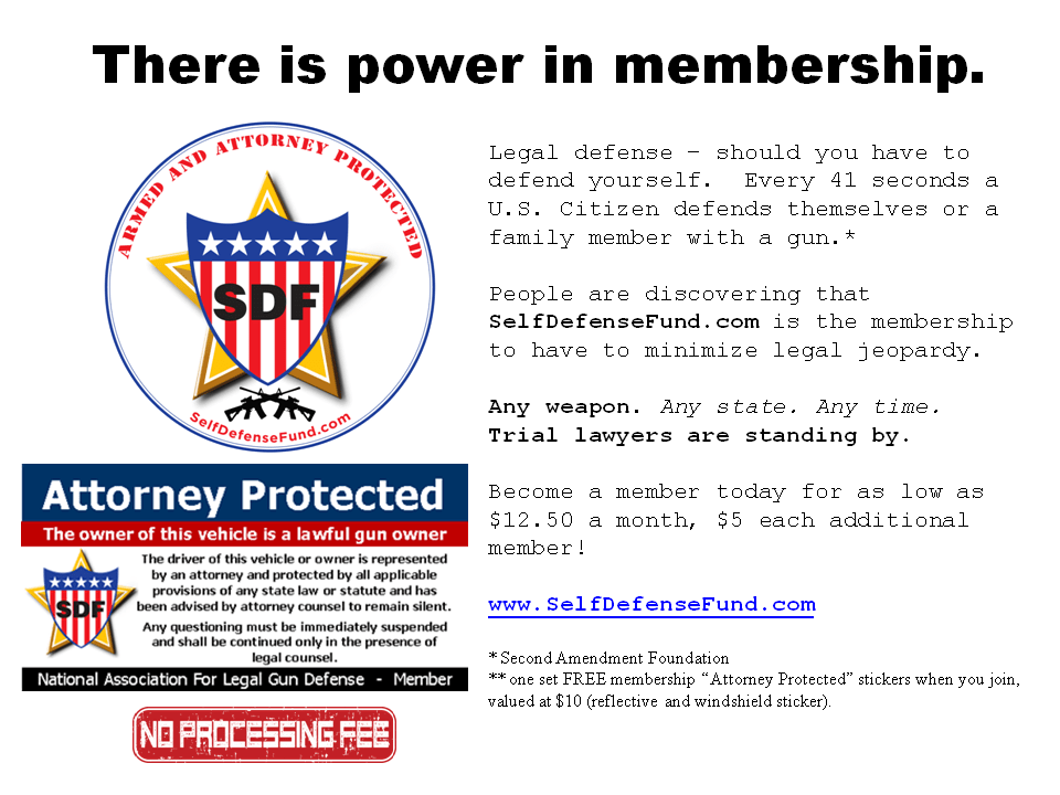 There is power in membership