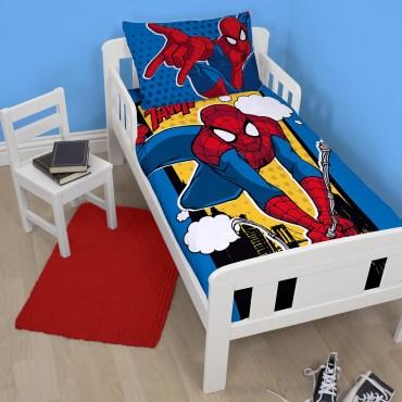 SPI345 - Spiderman Webhead Junior Duvet Cover Set
