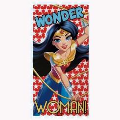 DCO009 - DC Superhero Girls Wonder Woman Beach Towel