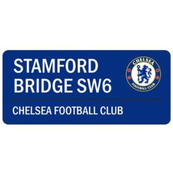 CHE148 - Chelsea FC Stamford Bridge Street Sign