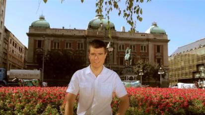 """Scena iz prethodnog filma """"Beograd"""""""