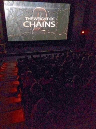 Špica filma na projekciji u Vankuveru