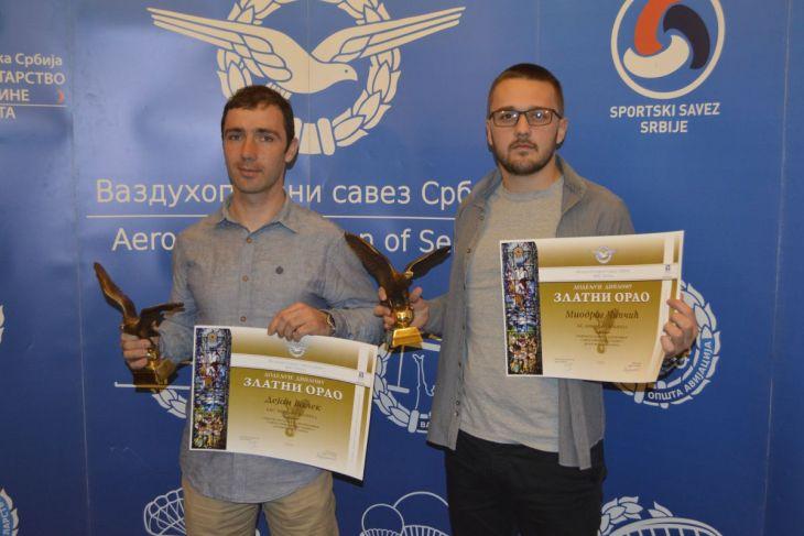 Dejan Valek i Miodrag Cipcic - dobitnici Zlatnog orla za 2014