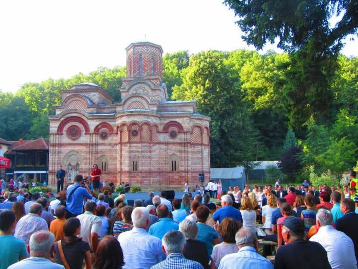 Sabor su otvorili predsednik opštine Rekovac Predrag Đorđević i ministarka poljoprivrede i zaštite životne sredine Snežana Bogosavljević Bošković