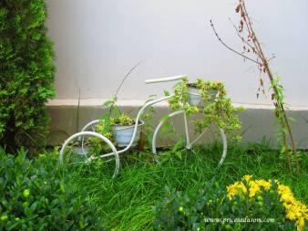 Ovaj ručno rađeni bicikl nastao je u radionici Rasimovog oca