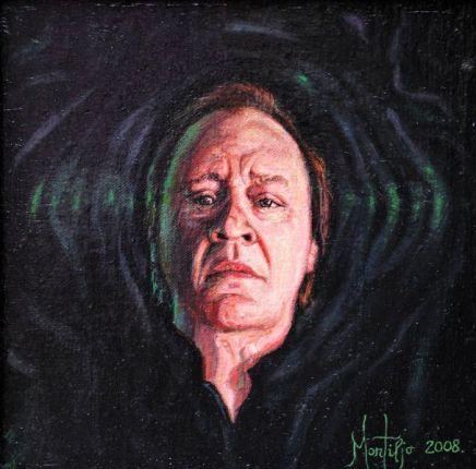 Saša je imao čast da Arsen Dedić jednu od njegovih slika postavi na svoju knjigu poezije Službena duša.