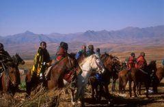 Konjanici u Lesotu
