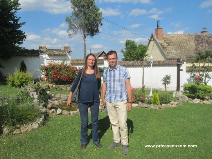 Ana Pavlovic i Nenad Blagojevic u vili Albedo_1024x768