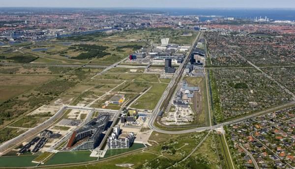 Ørestad Syd luftfoto