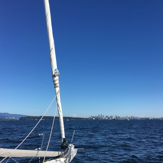English Bay aboard the Elision 2017 09 07