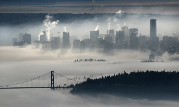 Vancouver.Fog