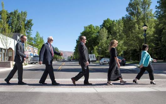 Carson City Nevada Steps Up To A Walkable Downtown Walkmetrovan Creating Walkable Accessible Places For Everyone