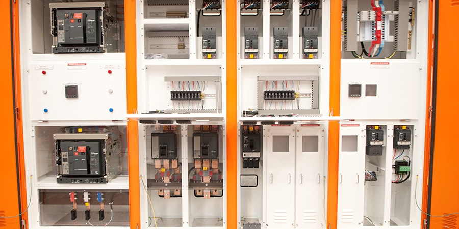 newly installed switchboard