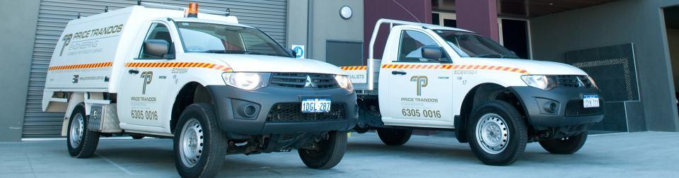 price trandos engineering service vehicles