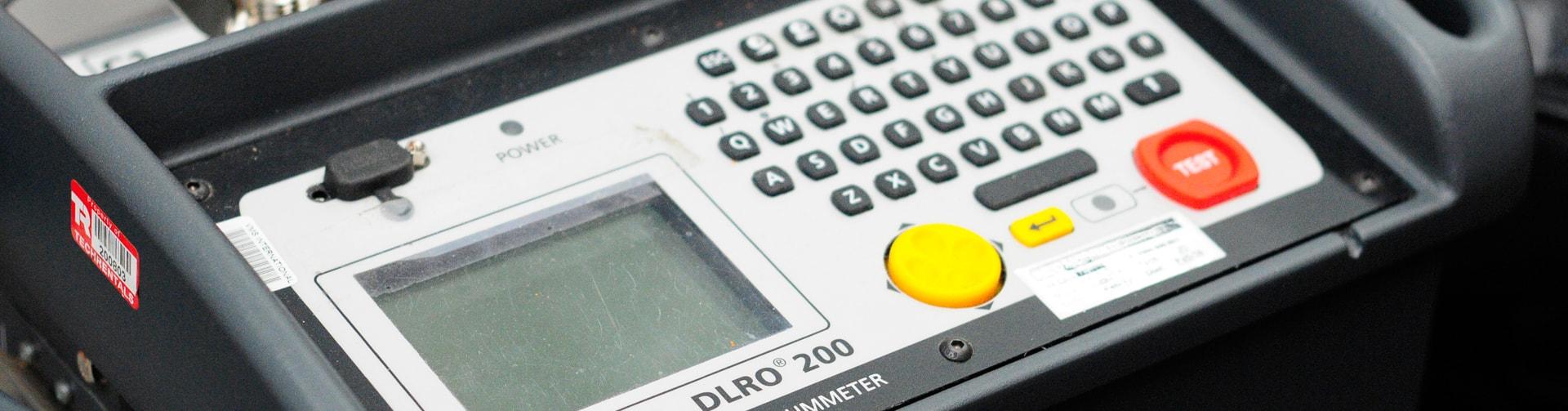 reading meter for testing