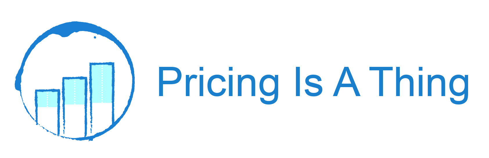 Pricing Is A Thing - Logo W