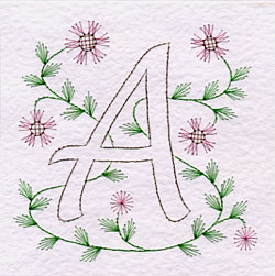 initial A