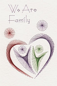 We Are Family pattern