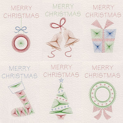 Stitching Cards Valuepack 54 Christmas